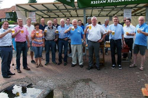 500 Eroeffnung Brunnenfest Weisbach