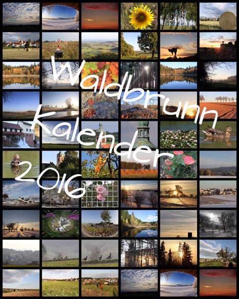 Waldbrunn-Kalender 2016 erschienen thumbnail