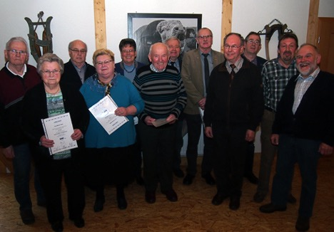 05 03 16 KP VdK Waldbrunn ehrt Mitglieder