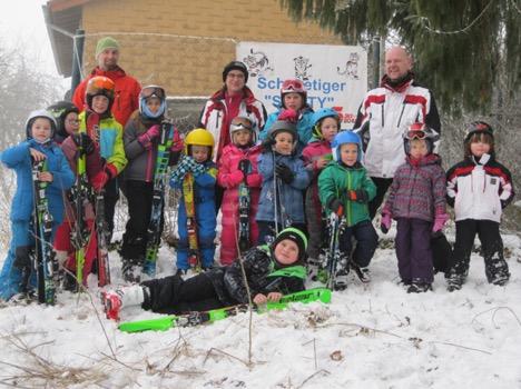 Überwältigender Zuspruch beim Kinder-Skikurs thumbnail