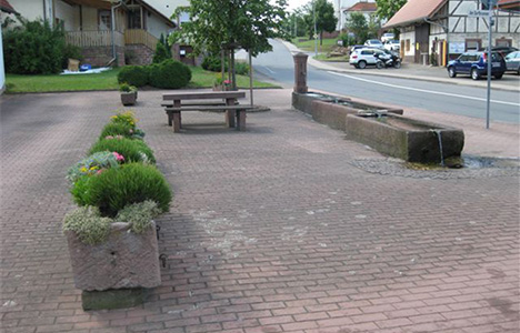 Brunnen Weisbach