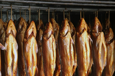 Geräucherte Forellen wie beim Seefest thumbnail