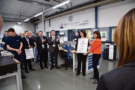 KP Mosca Lernfabrik Auszeichnung